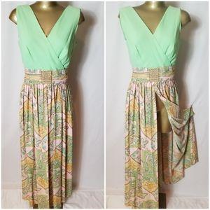 HANDMADE VINTAGE 1950 HOSTESS DRESS